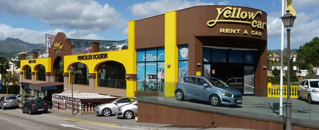Yellow Car Oficina Marbella