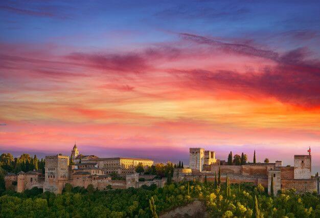 Vistas Alhambra Granada