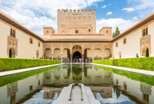 Vista interior alhambra