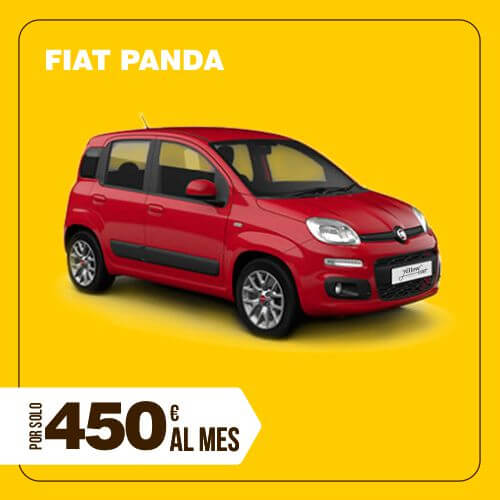 Alquiler Fiat Panda larga duración